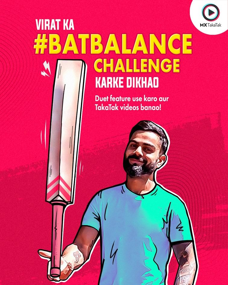 What's this Viral #BatBalance Challenge that's got Indian Cricketers Hooked?