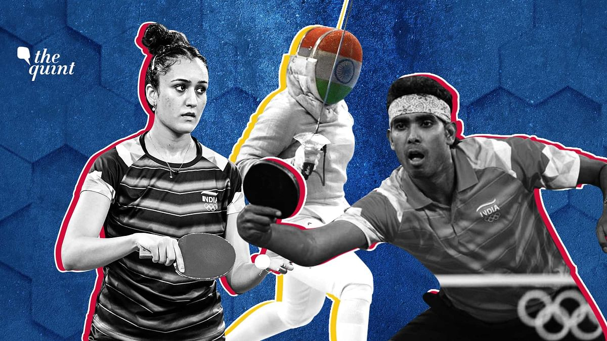 """<div class=""""paragraphs""""><p>Bhavani Devi and Sharath Kamal registered a win each while all other Indian athletes were handed defeats on Monday.</p></div>"""