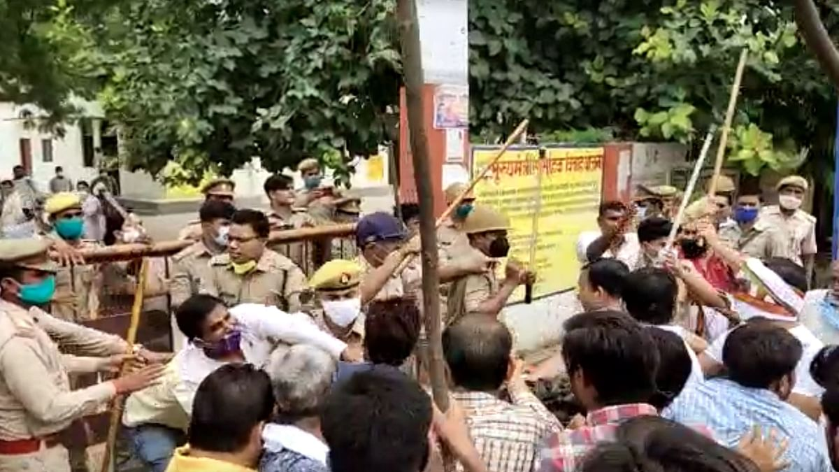 Amid Widespread Violence, BJP Wins Big in UP Block Polls