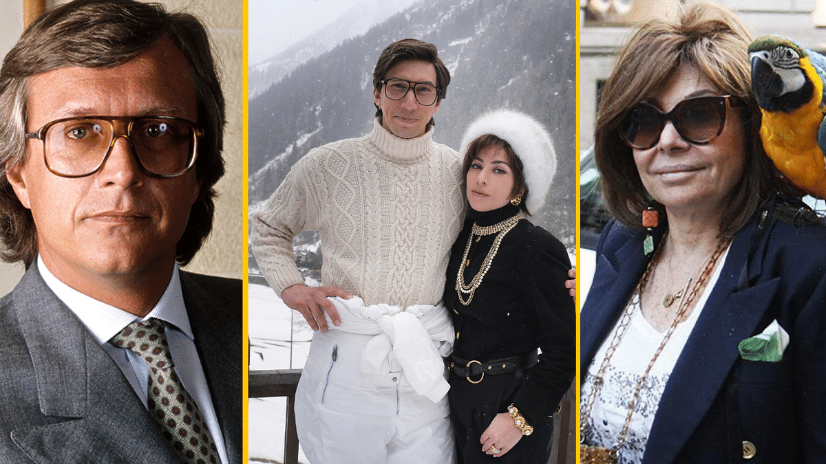 """<div class=""""paragraphs""""><p>Adam Driver and Lady Gaga will play Maurizio Gucci and Patrizia Reggiani, who was convicted of plotting his murder, in Ridley Scott's&nbsp;<em>House of Gucci.</em></p></div>"""