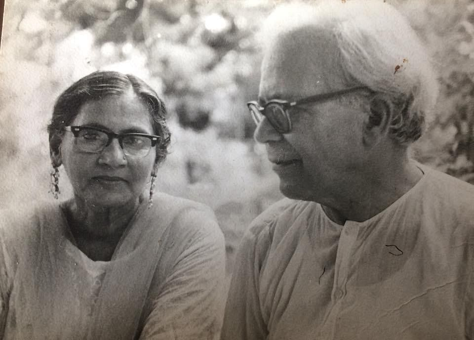 """<div class=""""paragraphs""""><p>Noted poet Prof Ale Ahmad Suroor and his wife Zahida Suroor.&nbsp;</p></div>"""