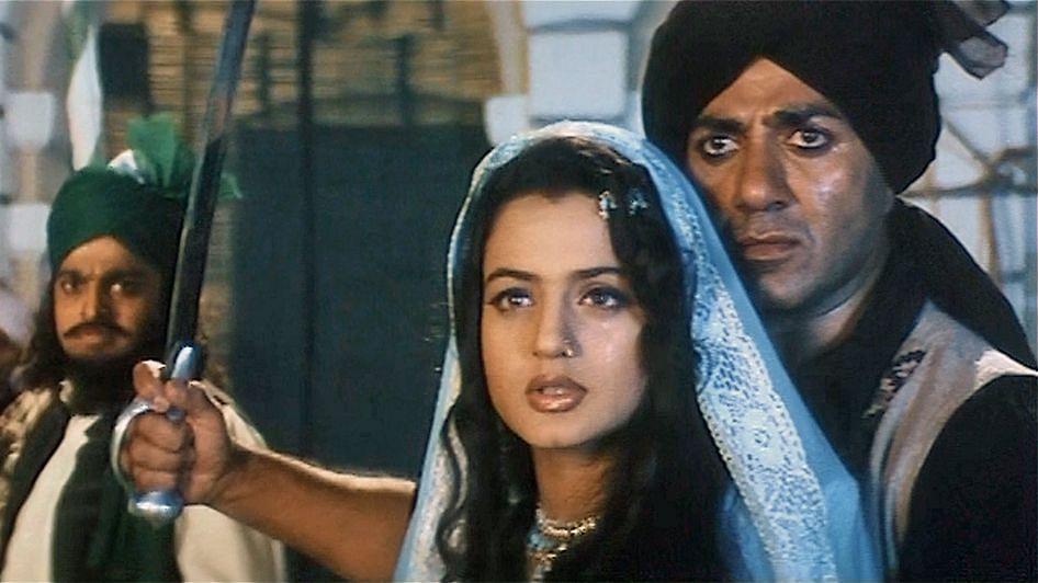 "<div class=""paragraphs""><p>Sunny Deol and Ameesha Patel in&nbsp;<em>Gadar: Ek Prem Katha.</em></p></div>"