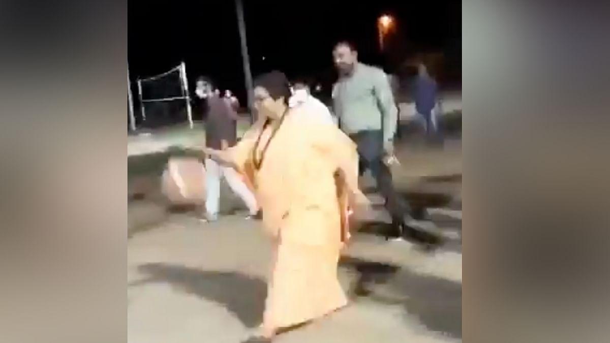 Watch: Pragya Thakur Plays Basketball,  Leaves Congress Surprised