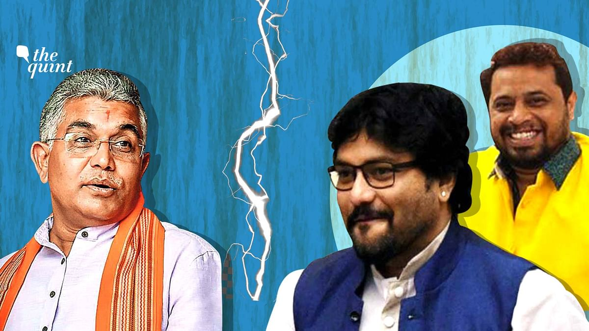 """<div class=""""paragraphs""""><p>BJP's Bengal Headache: Babul, Saumitra Attack Dilip Ghosh Ahead Of Party Rejig</p></div>"""