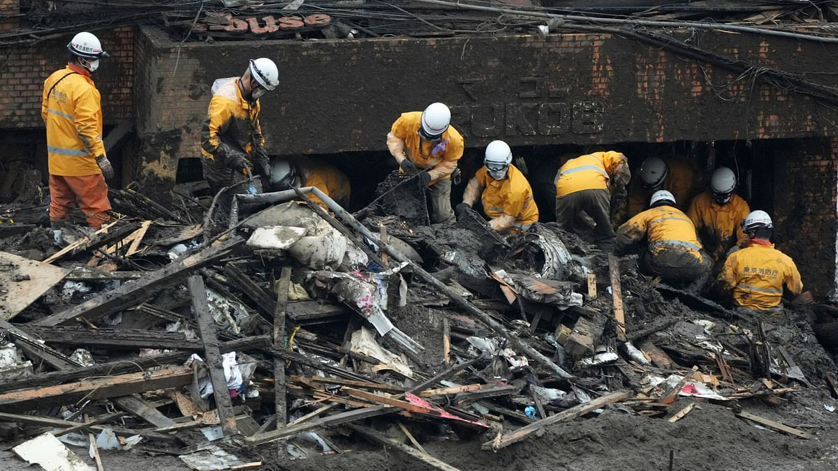 Landslide in Japan Leaves 4 Dead, 80 Missing; Rescue Ops Underway