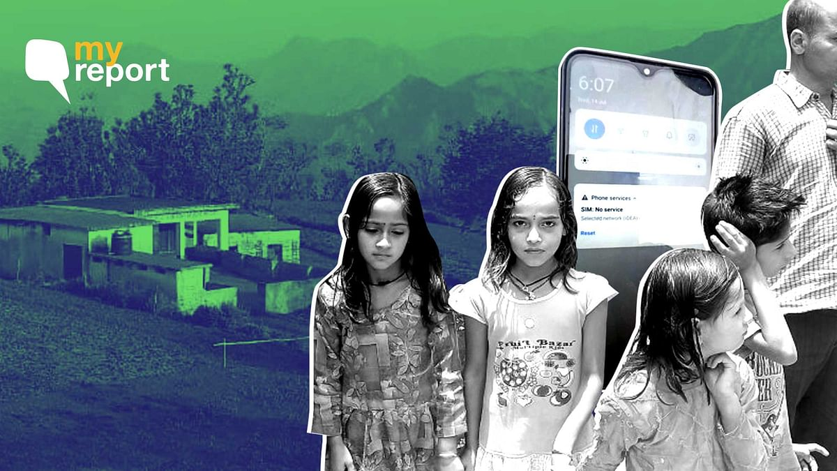 """<div class=""""paragraphs""""><p>Children in Himachal Pradesh's Kotga village are struggling for education because of no internet connectivity.</p></div>"""