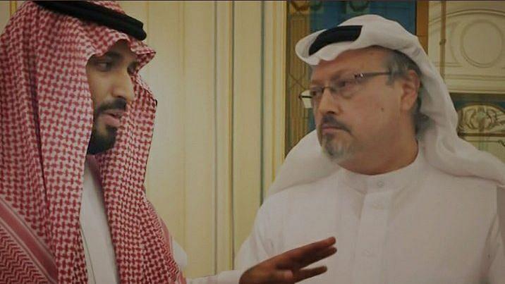 """<div class=""""paragraphs""""><p>Saudi journalist Jamal Khashoggi (R).</p></div>"""