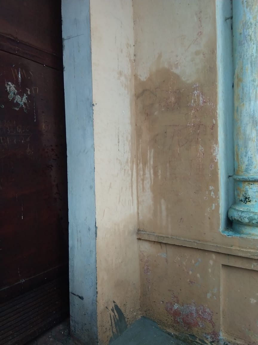 """<div class=""""paragraphs""""><p>The word 'Atankwadi' scribbled on the wall of Praveen's house</p></div>"""