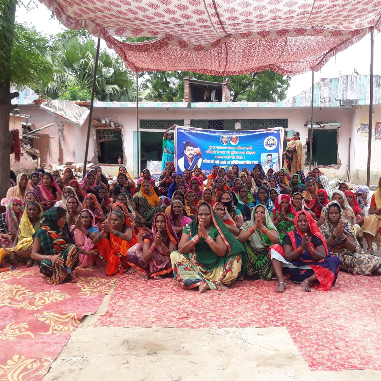 Politics Intensifies in Azamgarh as Dalit Women Protest 'Midnight Police Attack'