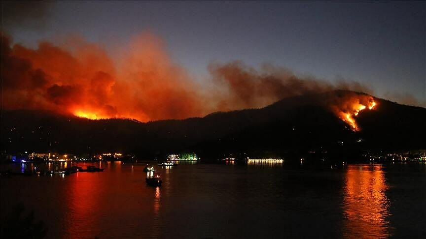 4 Dead, Over 50 Hospitalised as Wildfires Rage on Turkey's Southern Coast