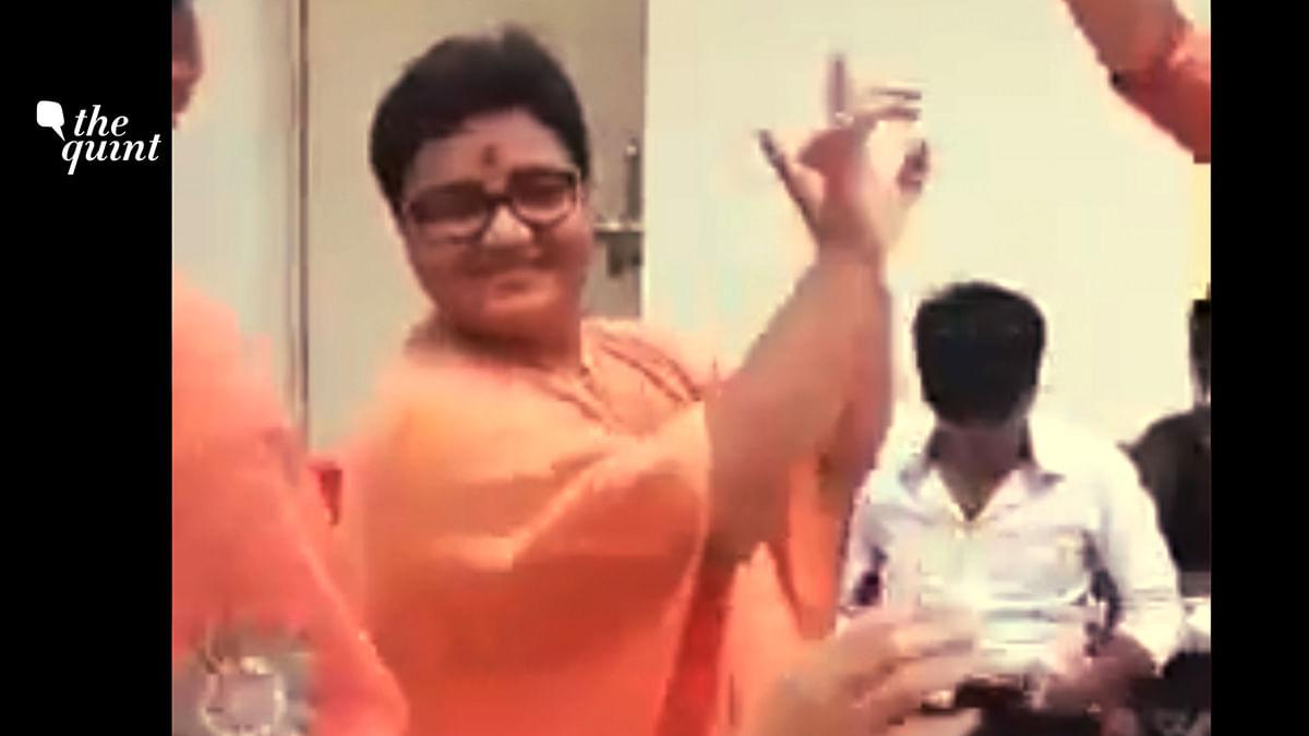 After Basketball Video, Malegaon Blast Accused Pragya Thakur Seen Dancing