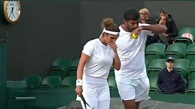 Sania-Bopanna Go Down Fighting in Mixed Doubles at Wimbledon