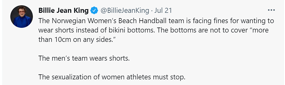 'Men Wear Shorts': Norway's Women Athletes Fined For Not Playing in Bikinis