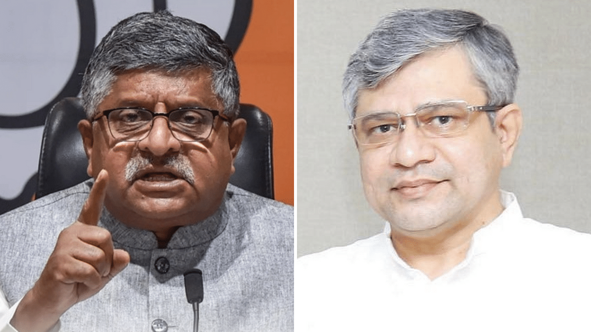 Prasad Greets New IT Min Vaishnaw, Lauds Him for Assertion of IT Rules