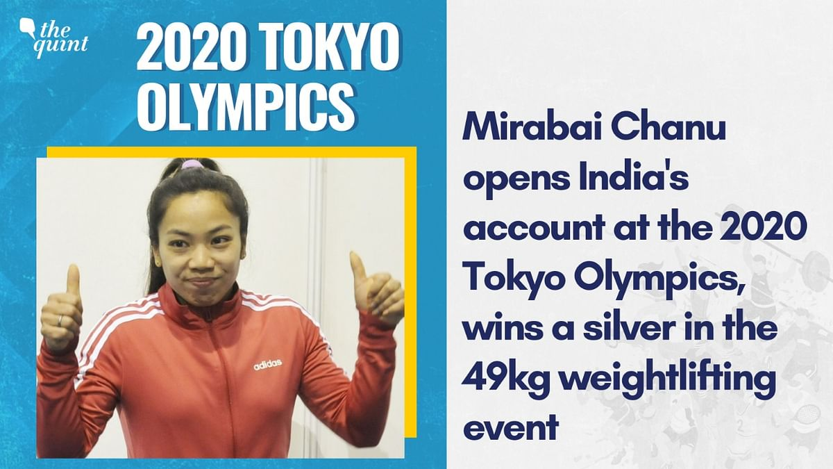 Mirabai Chanu Wins a Silver in Weightlifting, India's First Medal at Tokyo 2020
