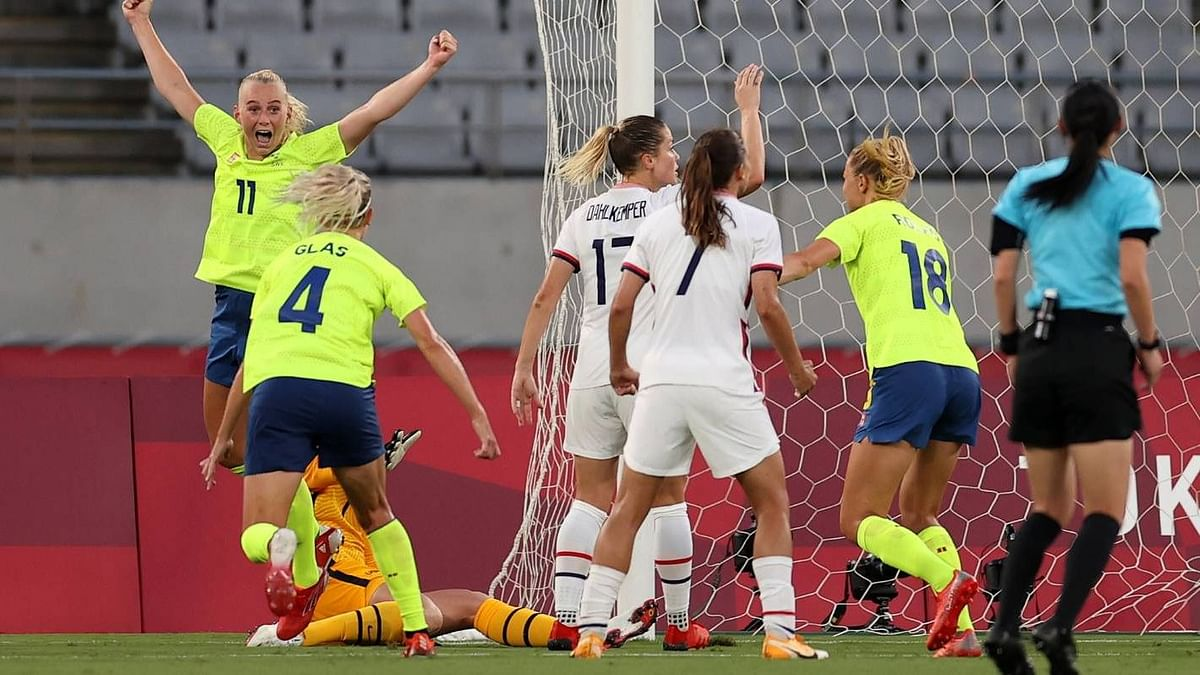 Tokyo Olympics: USA Stunned by Sweden as Women's Football Gets Underway
