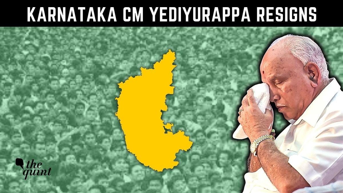 'Wasn't Under Pressure': Amid Tears, Karnataka CM Yediyurappa Resigns