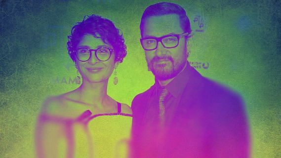 """<div class=""""paragraphs""""><p>Indian family is changing. Thanks to Aamir Khan and Kiran Rao for highlighting it.&nbsp;Illustration: Shruti Mathur/The Quint</p></div>"""