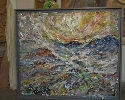 "<div class=""paragraphs""><p>Portrait made by Manveer out of plastic.</p></div>"