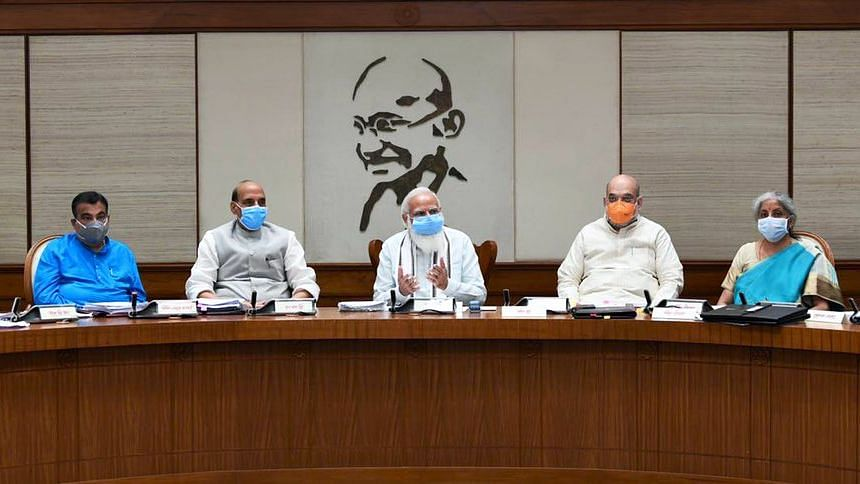 PM Narendra Modi Chairs 1st In-Person Cabinet Meet in Over a Year