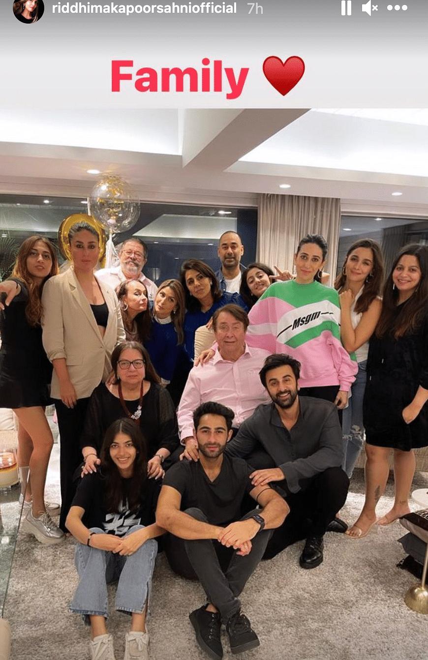 Pics: Alia, Ranbir, Kareena Get Together to Celebrate Neetu Kapoor's Birthday