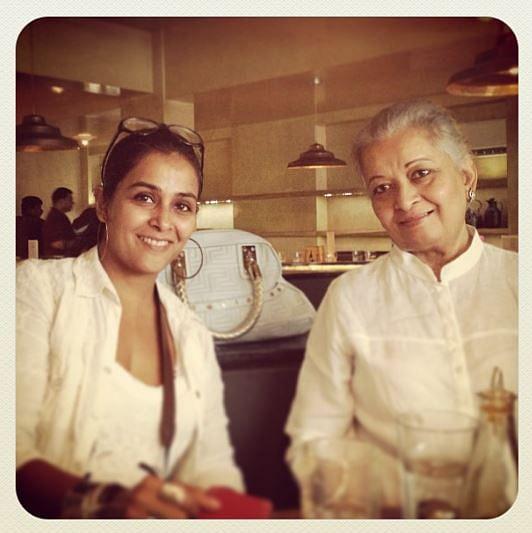 "<div class=""paragraphs""><p>Zahan Kapoor's mother Sheena, and grandmother.</p></div>"