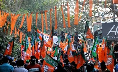 Bengal BJP Workers Brawl in Front of State President and Dilip Ghosh