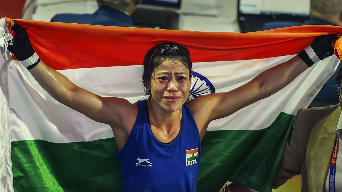 """<div class=""""paragraphs""""><p>Mary Kom gets eliminated from Tokyo Olympics in RO16.</p></div>"""