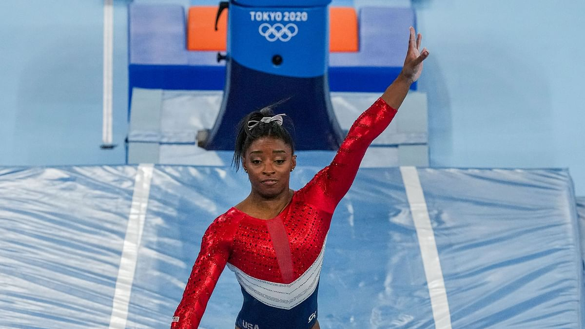 Simone Biles Pulls Out of Vault and Uneven Bars Finals at Tokyo Olympics
