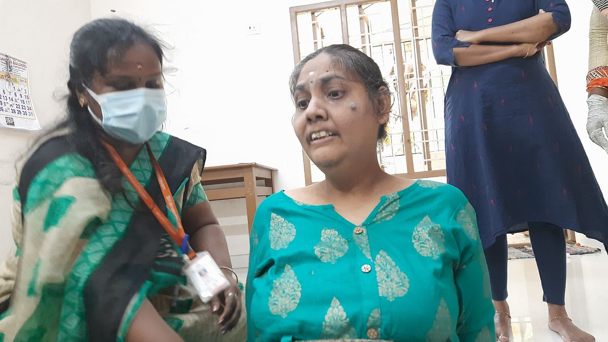 """<div class=""""paragraphs""""><p>The NGO hopes to empower Megala to do her own daily chores.</p></div>"""