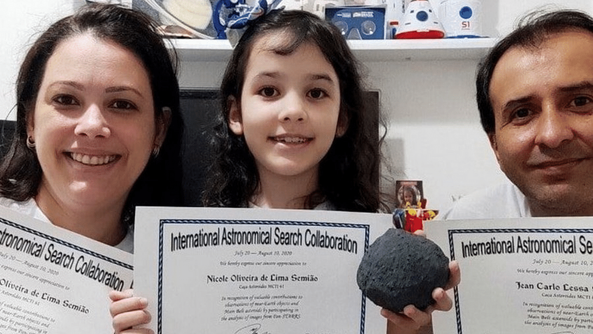 7-Year-Old Becomes World's Youngest Astronomer