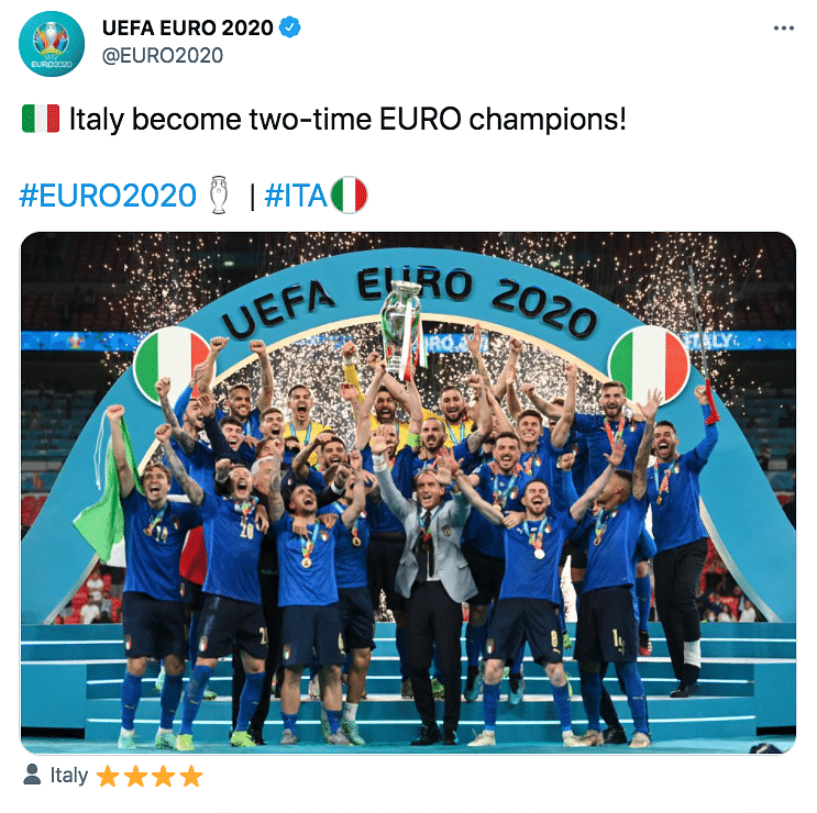 Euro 2020: Goalkeeper Gianluigi Donnarumma The Hero as Italy Clinch Title