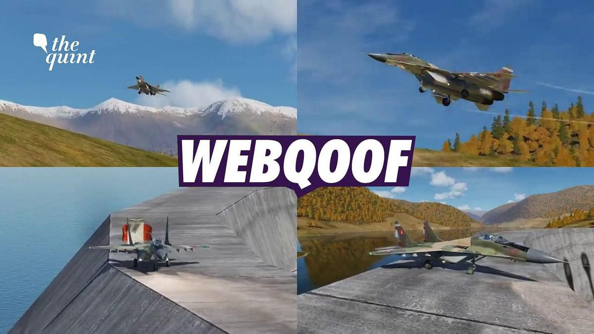 """<div class=""""paragraphs""""><p>The clip is taken from a simulation-type video game called DCS World.</p></div>"""