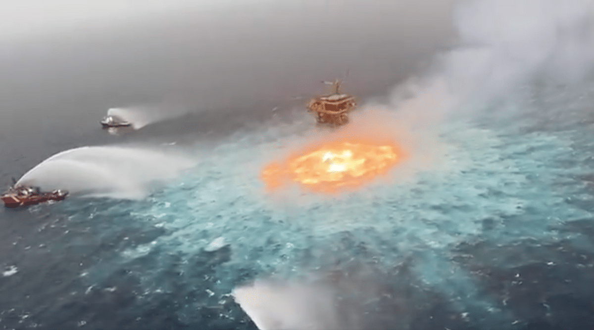 'Ocean on Fire': Oil Firm Says Blaze in Mexican Waters Snuffed Out