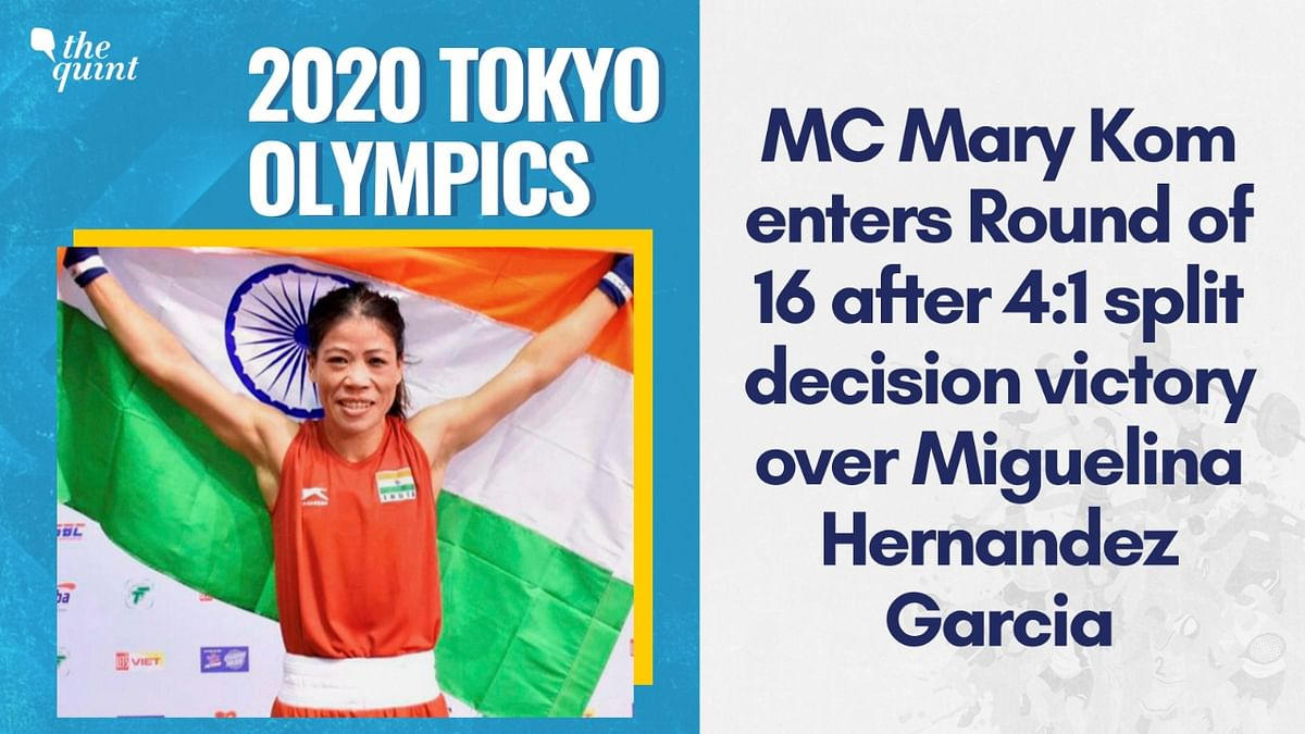 Mary Kom Opens 2020 Tokyo Olympic Campaign With Commanding Win