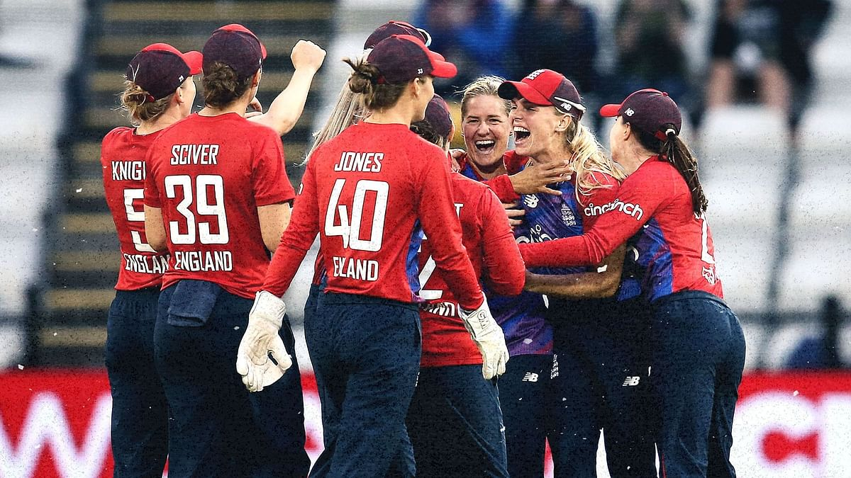 India Women Handed Loss in Rain Affected First T20I vs England