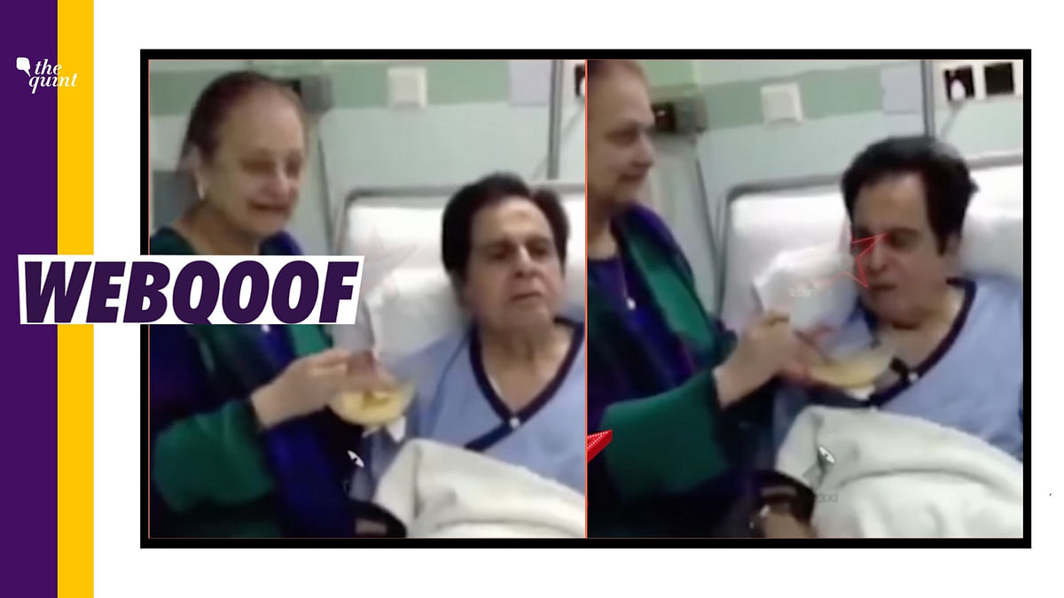 No, That's Not Dilip Kumar's 'Last Video' From the Hospital