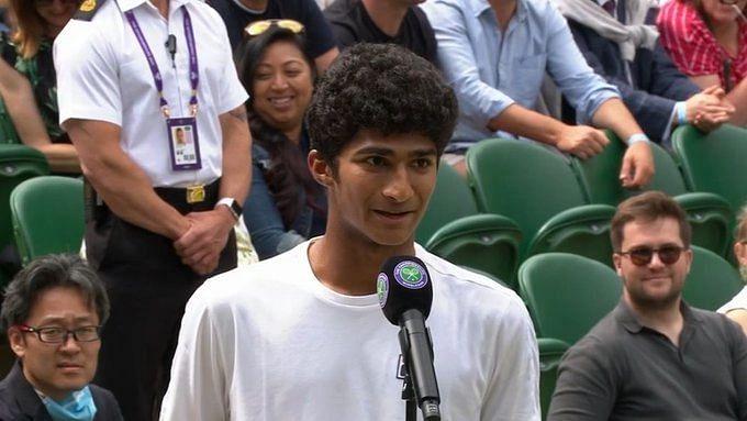 Indian-Origin Samir Banerjee Wins Wimbledon Boys' Singles
