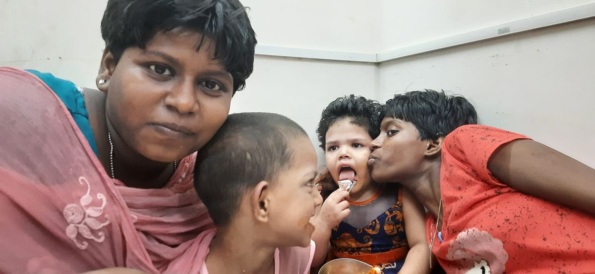 """<div class=""""paragraphs""""><p>Megala lives with 30 other special children in a home in Chennai.</p></div>"""