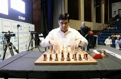 Anand to Play First On-Board Game in Croatia Grand Chess Tour
