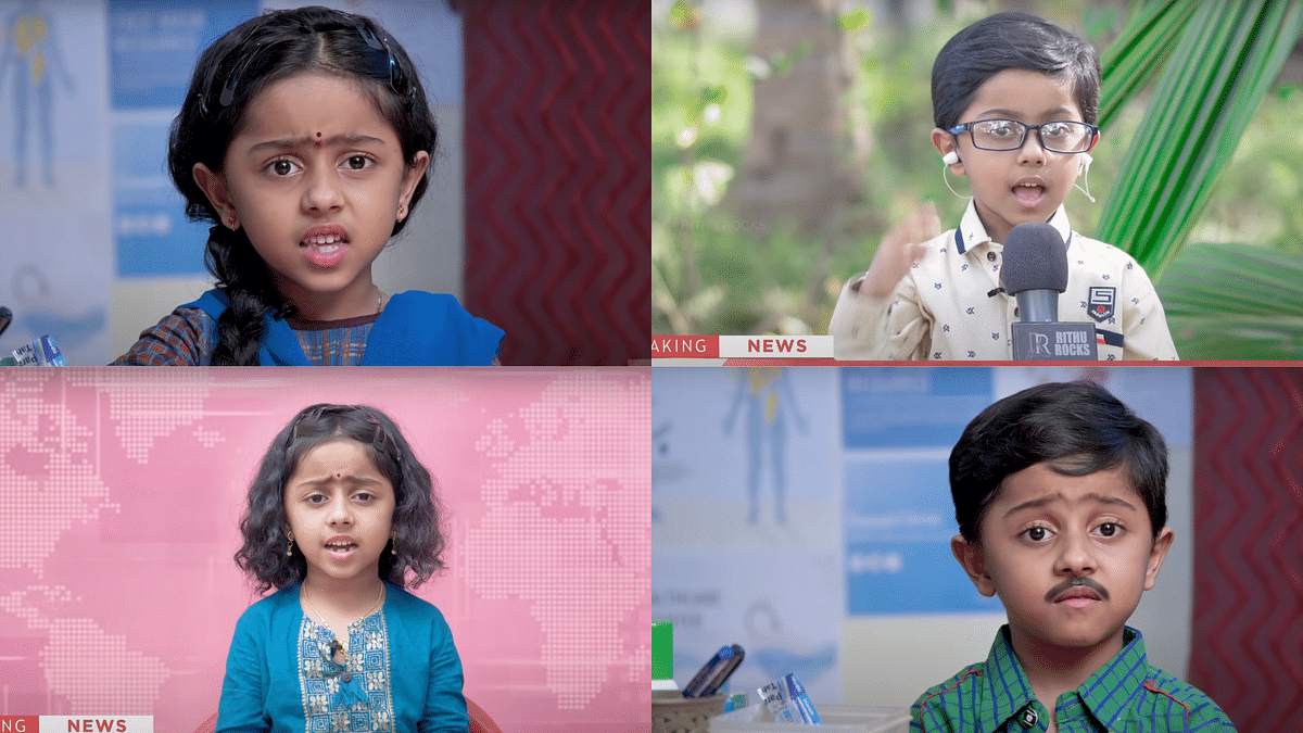 This 7-Year-Old Boy Is Going Viral for His Satirical Videos on Indian Media