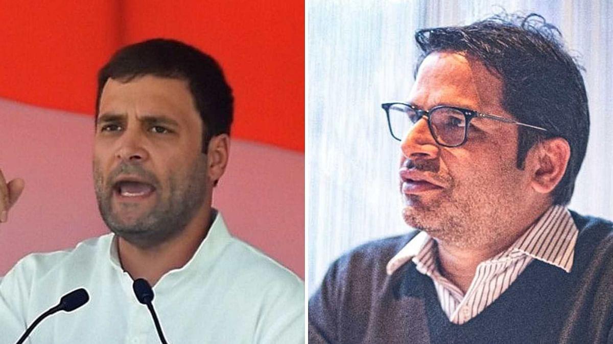 2024 Polls or United Opposition? Prashant Kishor Holds Meet With Gandhis