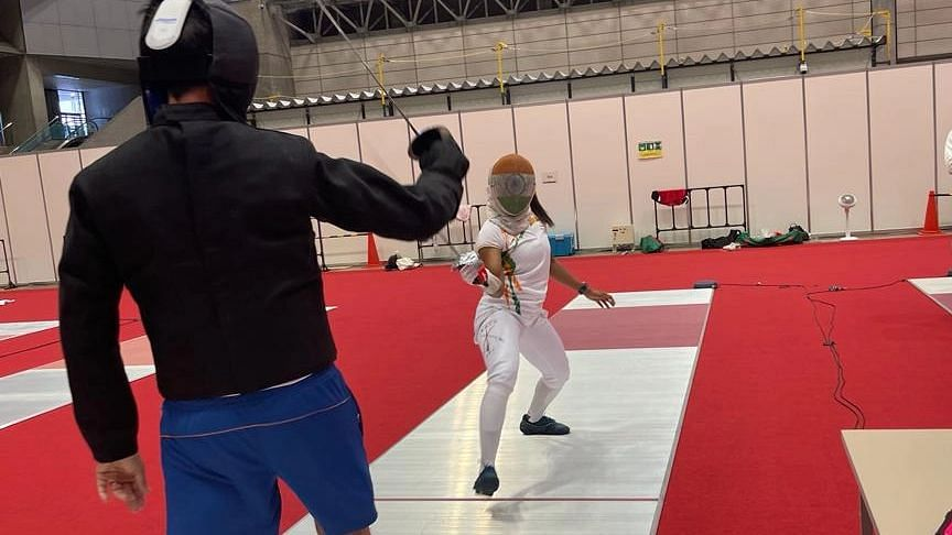 Bhavani Devi, First Indian Fencer to Qualify for Olympics, Exits in Second Round