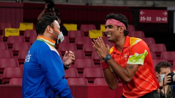 """<div class=""""paragraphs""""><p>Tokyo Olympics: Sharath Kamal lost to Ma Long in Round 3.&nbsp;</p></div>"""