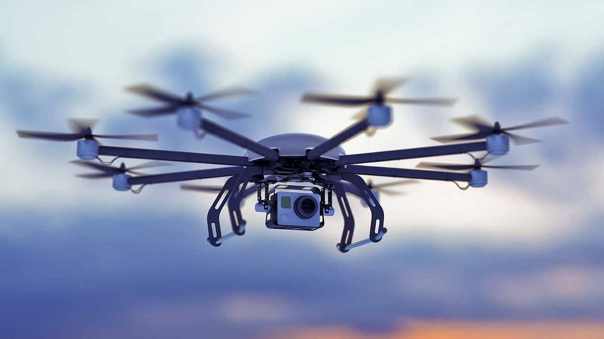 """<div class=""""paragraphs""""><p>Drone Spotted Over Indian High Commission in Pakistan's Islamabad, Protest Lodged: Reports. Image used for representational purposes.&nbsp;</p></div>"""