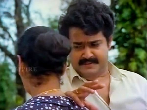 """<div class=""""paragraphs""""><p>Mohanlal in a still from Dashratham.</p></div>"""