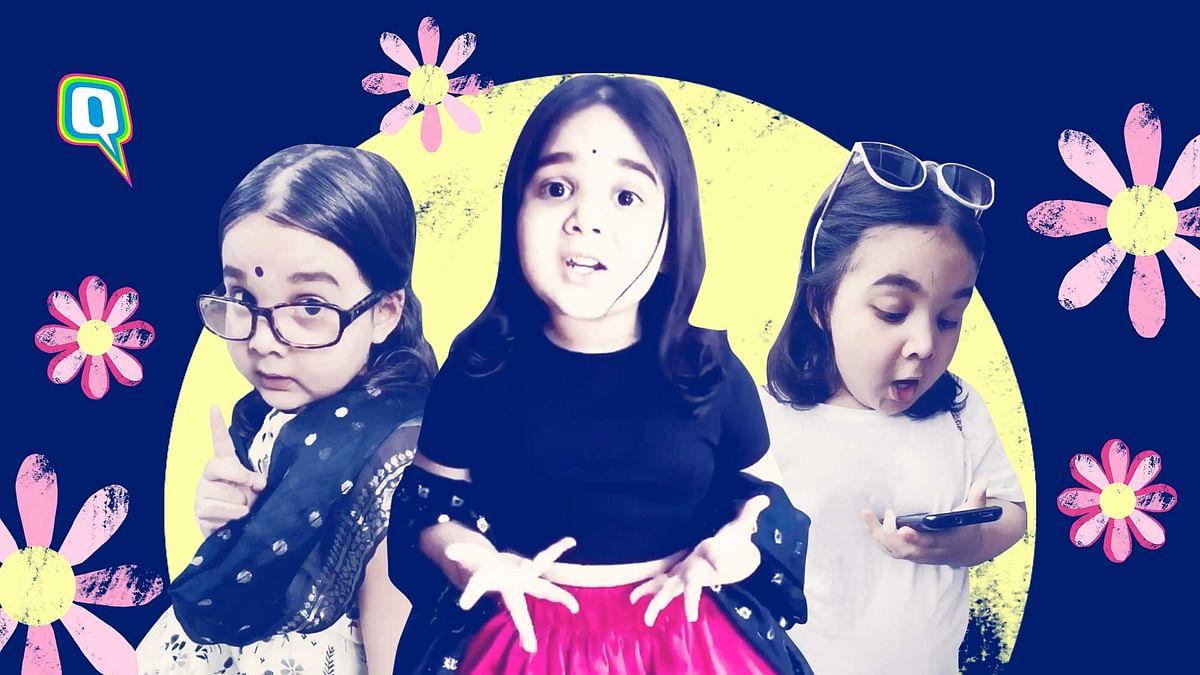 4-Yr-Old Kiara 'Guddu' Nautiyal Is Taking Over Instagram With Her Desi Content