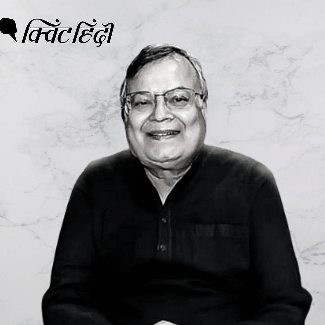 """<div class=""""paragraphs""""><p>Pulp novelist Surendra Mohan Pathak</p></div>"""