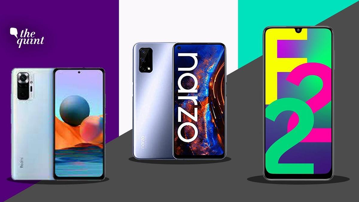 Samsung Galaxy F22 vs Mi Note 10 vs Realme Narzo 30: Which One Should You Buy?