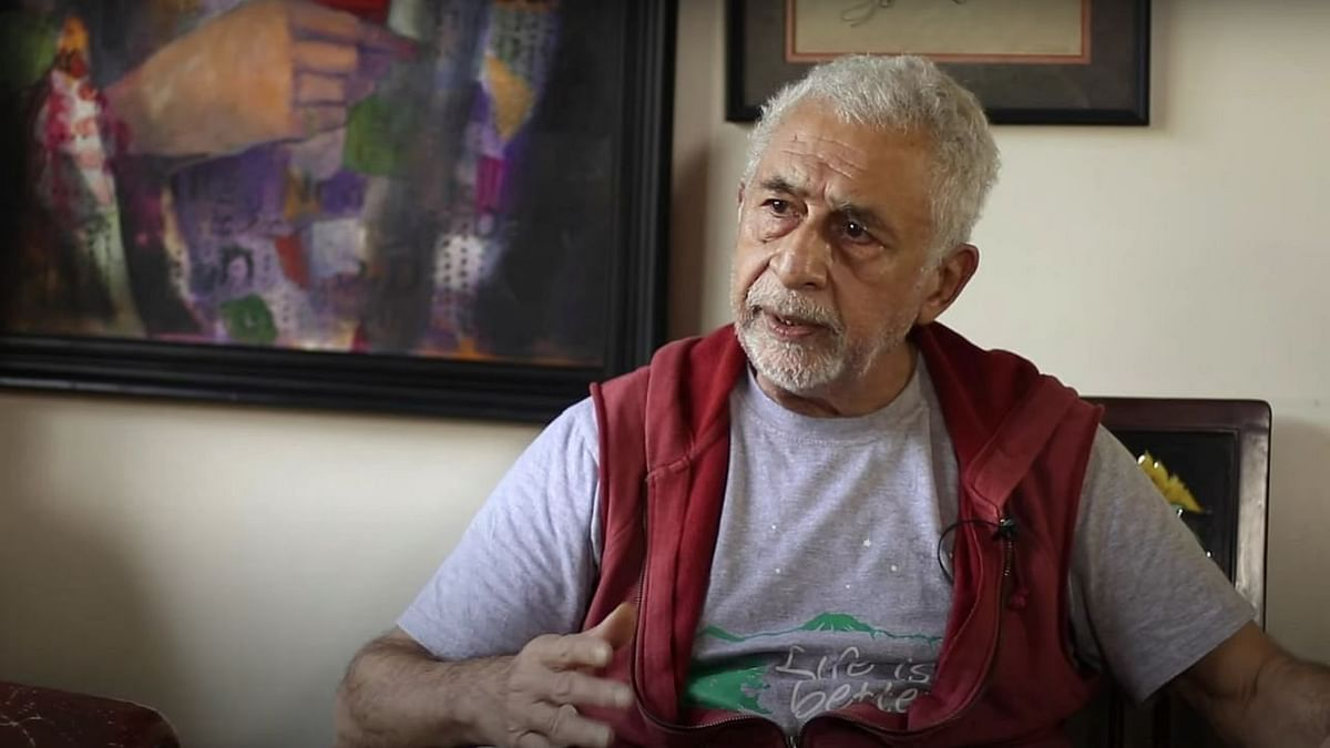 Watch: Naseeruddin Shah Has a Message For Those 'Celebrating Taliban's Return'